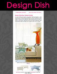 LF Interior Design Seattle. ''Global Fusion''. Design Dish online Magazine. 2009